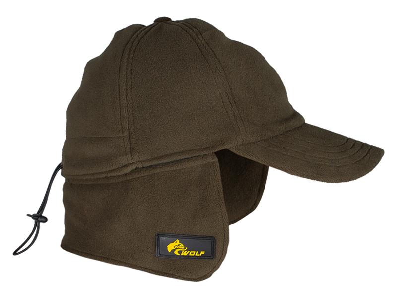 Kulaklıklı Polar Şapka Haki Vecihi