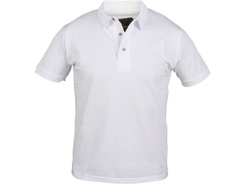 Polo Yaka T-Shirt Beyaz Bartın