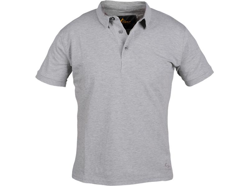 Polo Yaka T-Shirt Gri Bartın