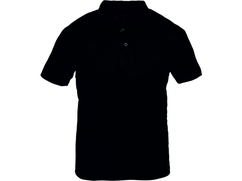 Polo Yaka T-Shirt Siyah Bartın